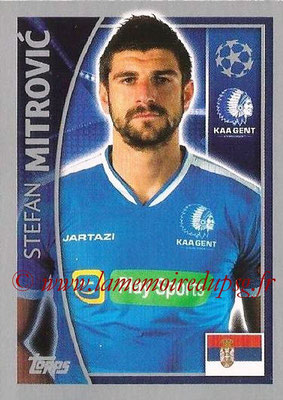 2015-16 - Topps UEFA Champions League Stickers - N° 538 - Stefan MITROVIC (KAA Gent)