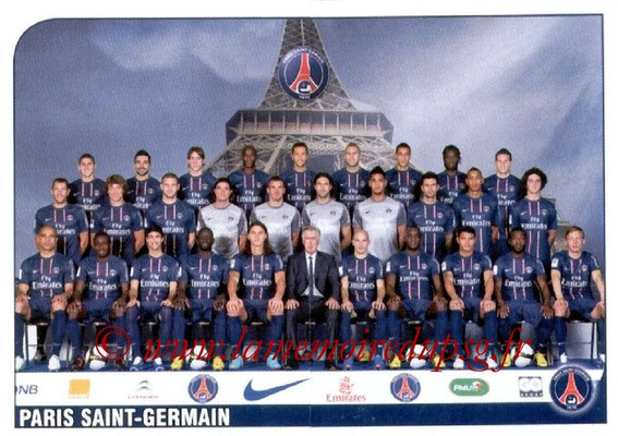 N° 292 et 293 - Equipe PSG