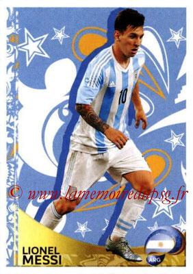 Panini Copa America Centenario USA 2016 Stickers - N° 398 - Lionel MESSI (Argentine) (En action)