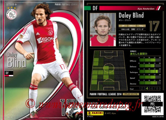 Panini Football League 2014 - PFL08 - N° 101 - Daley BLIND (Ajax Amsterdam) (Star +)