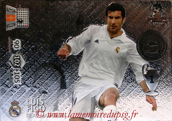 2012-13 - Adrenalyn XL champions League N° 355 - Luis FIGO (Real Madrid CF) (Legend)