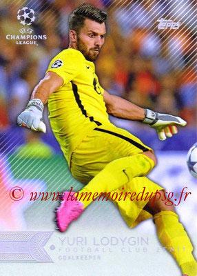 2015-16 - Topps UEFA Champions League Showcase Soccer - N° 182 - Yuri LODYGIN (Maccabi Tel-Aviv FC)