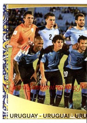 Panini Copa America Centenario USA 2016 Stickers - N° 231 - Equipe Uruguay 1