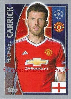 2015-16 - Topps UEFA Champions League Stickers - N° 111 - Michael CARRICK (Manchester United FC)