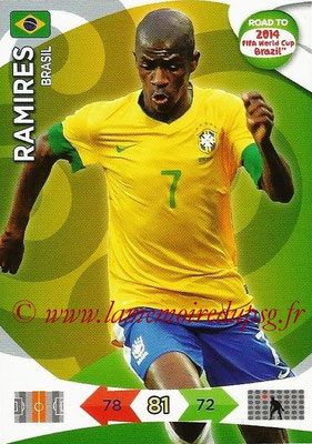2014 - Panini Road to FIFA World Cup Brazil Adrenalyn XL - N° 022 - RAMIRES (Brésil)