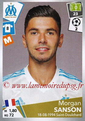 2017-18 - Panini Ligue 1 Stickers - N° 219 - Morgan SANSON (Marseille)
