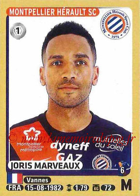 2015-16 - Panini Ligue 1 Stickers - N° 280 - Joris MARVEAUX (Montpellier Hérault SC)