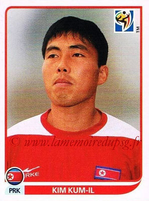 2010 - Panini FIFA World Cup South Africa Stickers - N° 520 - Kim KUM-IL (Corée du Nord)
