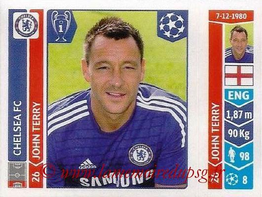 2014-15 - Panini Champions League N° 491 - John TERRY (Chelsea FC)