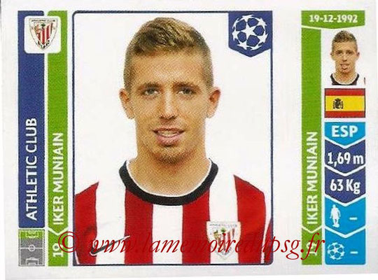 2014-15 - Panini Champions League N° 606 - Iker MUNIAIN (Athletic Club Bilbao)