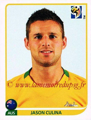 2010 - Panini FIFA World Cup South Africa Stickers - N° 288 - Jason CULINA (Australie)