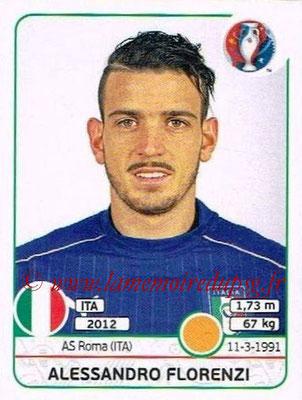 Panini Euro 2016 Stickers - N° 503 - Alessandro FLORENZI (Italie)
