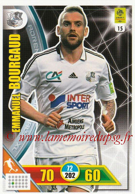 2017-18 - Panini Adrenalyn XL Ligue 1 - N° 015 - Emmanuel BOURGAUD (Amiens)