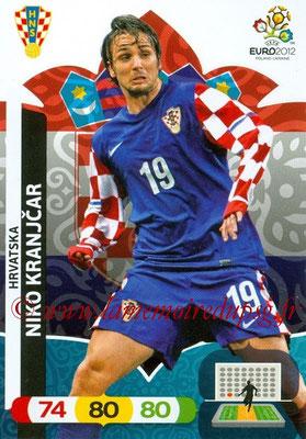 Panini Euro 2012 Cards Adrenalyn XL - N° 108 - Niko KRANJCAR (Croatie)