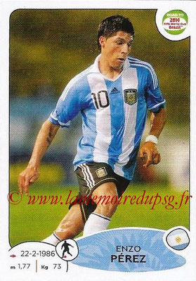 2014 - Panini Road to FIFA World Cup Brazil Stickers - N° 066 - Enzo PEREZ (Argentine)
