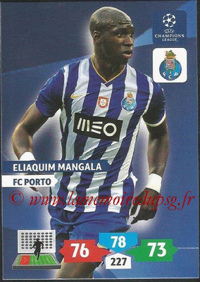 2013-14 - Adrenalyn XL champions League N° 219 - Eliaquim MANGALA (FC Porto)