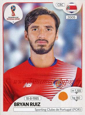 2018 - Panini FIFA World Cup Russia Stickers - N° 403 - Bryan RUIZ (Costa Rica)