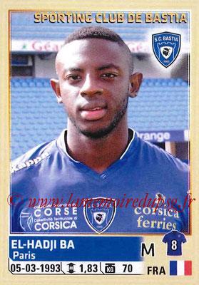 2014-15 - Panini Ligue 1 Stickers - N° 013 - El-Hadji BA (SC Bastia)
