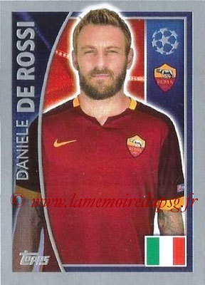 2015-16 - Topps UEFA Champions League Stickers - N° 341 - Daniele DE ROSSI (AS Roma)