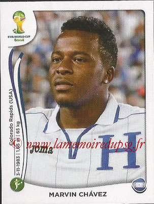 2014 - Panini FIFA World Cup Brazil Stickers - N° 409 - Marvin CHAVEZ (Honduras)