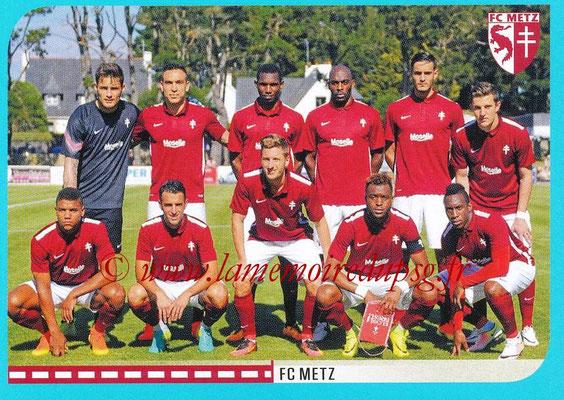 2016-17 - Panini Ligue 1 Stickers - N° 424 - Equipe Metz