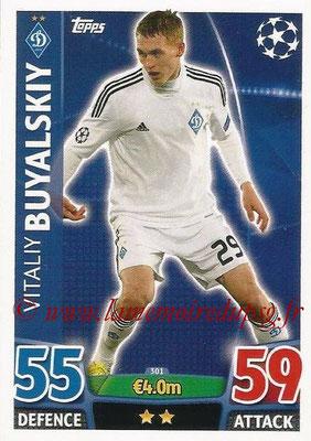 2015-16 - Topps UEFA Champions League Match Attax - N° 301 - Vitaly BUYALSKIY (FC Dynamo Kiev)