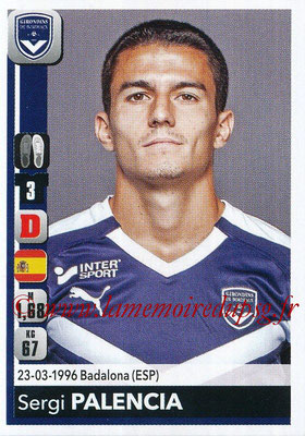 2018-19 - Panini Ligue 1 Stickers - N° 057 - Sergi PALENCIA (Bordeaux)