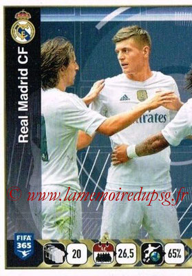 2015-16 - Panini FIFA 365 Stickers - N° 387 - Equipe Real Madrid CF 1