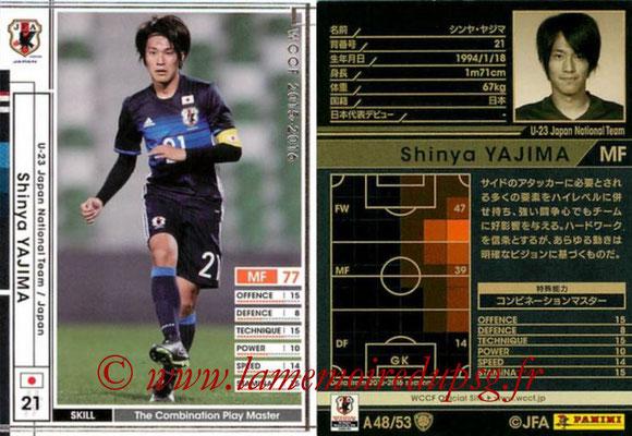 2015-16 - Panini WCCF - N° A48 - Shinya YAJIMA (Japon)