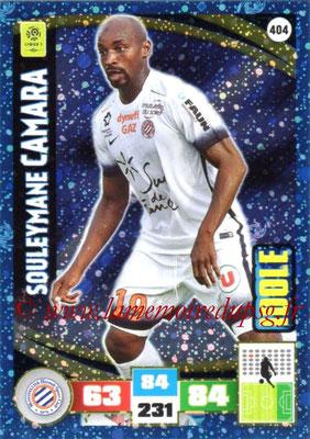 2016-17 - Panini Adrenalyn XL Ligue 1 - N° 404 - Souleymane CAMARA (Montpellier) (Idole)
