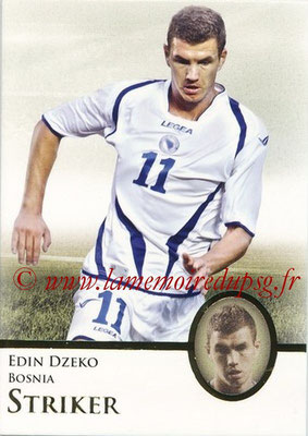 2013 - Futera World Football Unique - N° 073 - Edin DZEKO (Bosnie) (Striker)