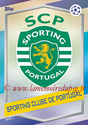 2016-17 - Topps UEFA Champions League Match Attax - N° SPO1 - Logo Sporting Club de Portugal