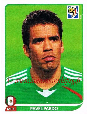 2010 - Panini FIFA World Cup South Africa Stickers - N° 058 - Pavel PARDO (Méxique)