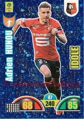 2018-19 - Panini Adrenalyn XL Ligue 1 - N° 390 - Adrien HUNOU (Rennes) (Idole)
