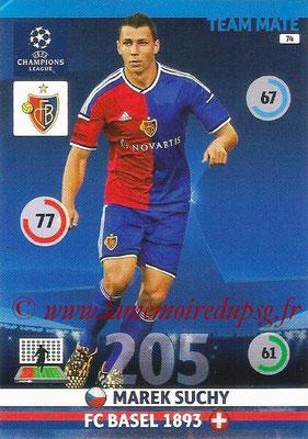 2014-15 - Adrenalyn XL champions League N° 074 - Marek SUCHY (FC Bâle)