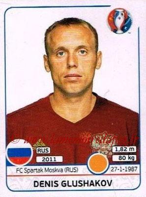 Panini Euro 2016 Stickers - N° 173 - Denis GLUSHAKOV (Russie)