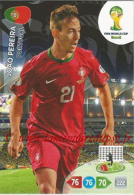 2014 - Panini FIFA World Cup Brazil Adrenalyn XL - N° 272 - Joao PEREIRA (Portugal)