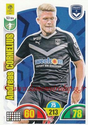 2018-19 - Panini Adrenalyn XL Ligue 1 - N° 053 bis - Andreas CORNELIUS (Bordeaux)