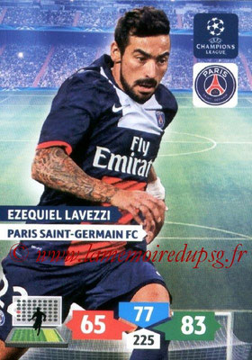 2013-14 - Adrenalyn XL champions League N° 233 - Ezequiel LAVEZZI (Paris Saint-Germain)