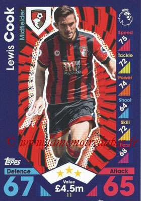 2016-17 - Topps Match Attax Premier League - N° 011