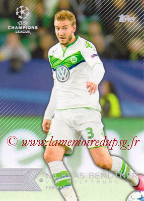 2015-16 - Topps UEFA Champions League Showcase Soccer - N° 053 - Nicklas BENDTNER (VFL Wolfsburg)