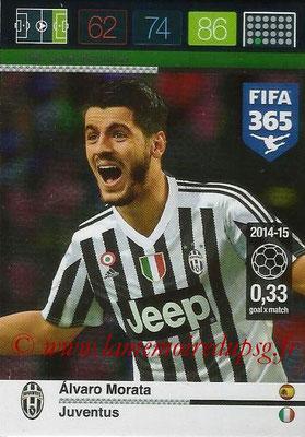 2015-16 - Panini Adrenalyn XL FIFA 365 - N° 196 - Alvaro MORATA (Juventus FC) (Goal Machine)