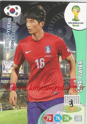 2014 - Panini FIFA World Cup Brazil Adrenalyn XL - N° 238 - Ki SUNG-YUENG (Corée) (Star Player)