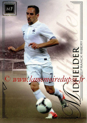 2014 - Futera World Football Unique - N° 056 - Franck RIBERY (Midfielder)