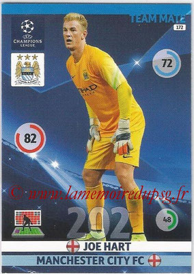 2014-15 - Adrenalyn XL champions League N° 172 - Joe HART (Manchester City FC)