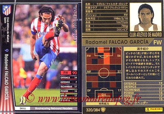 2012-13 - WCCF - N° 320 - Radamel FALCAO GARCIA (Atletico  Madrid)