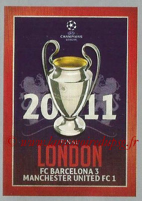 2015-16 - Topps UEFA Champions League Stickers - N° 603 - UEFA Champions League Final 2010-11
