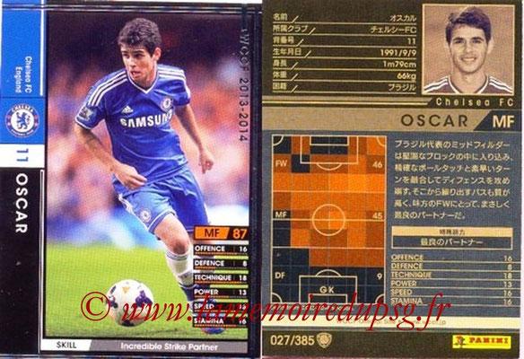 2013-14 - WCCF - N° 027 - OSCAR (Chelsea FC)