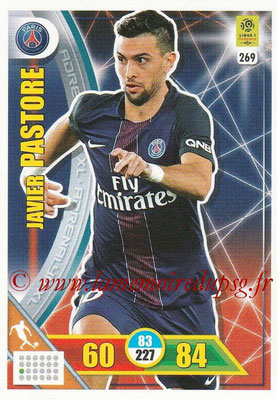 2017-18 - Panini Adrenalyn XL Ligue 1 - N° 269 - Javier PASTORE (Paris Saint-Germain)
