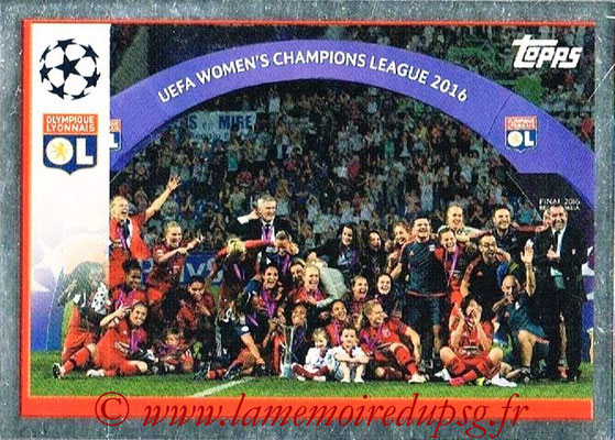 2016-17 - Topps UEFA Champions League Stickers - N° WCL 1 - Women's Champions League 2016